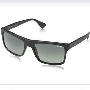 NWOT Prada matte black sunglasses